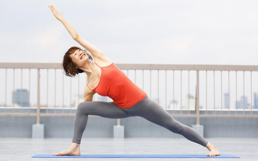 Mari's Yoga Class in March 2021 at @Yoga Studio in Kichijoji.