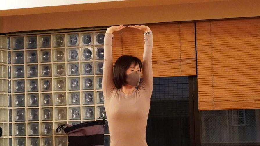 Tamami's Yoga Classes in October 2021 at @Yoga Studio in Kichijoji.