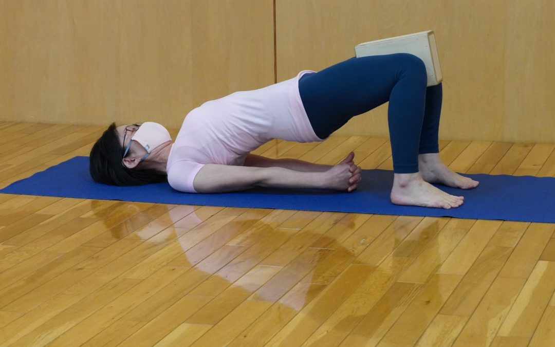 Miki's Yoga Class in March 2021 at @Yoga Studio in Kichijoji.
