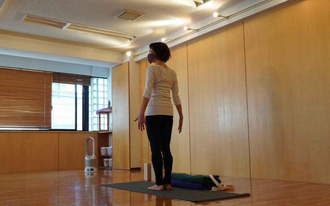 Mari's Yoga Class in May 2021 at @Yoga Studio in Kichijoji.