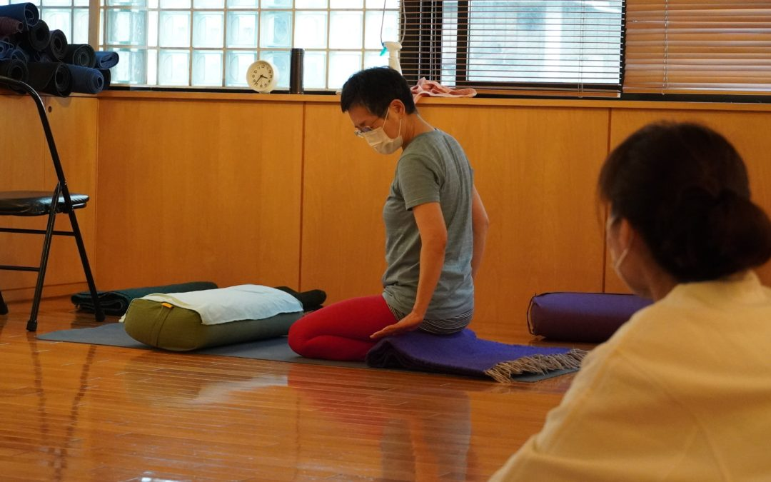 Mutsuko's Yoga Class in May 2021 at @Yoga Studio in Kichijoji.