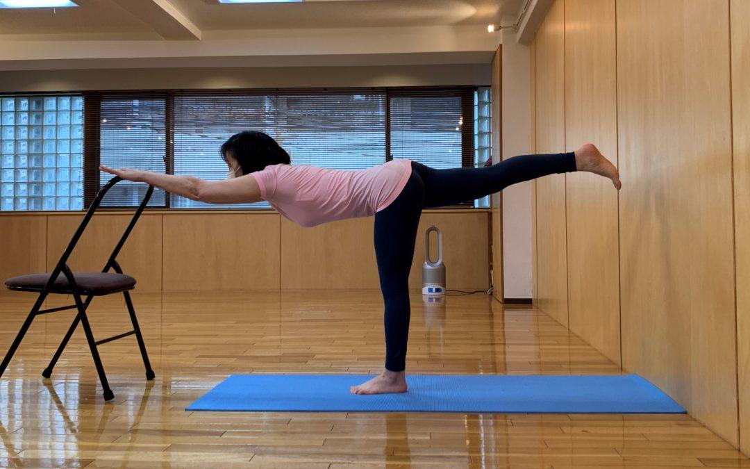 Miki's Yoga Classes in August 2021 at @Yoga Studio in Kichijoji.