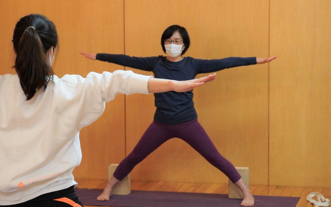 Miki's Yoga Classes in October 2021 at @Yoga Studio in Kichijoji.