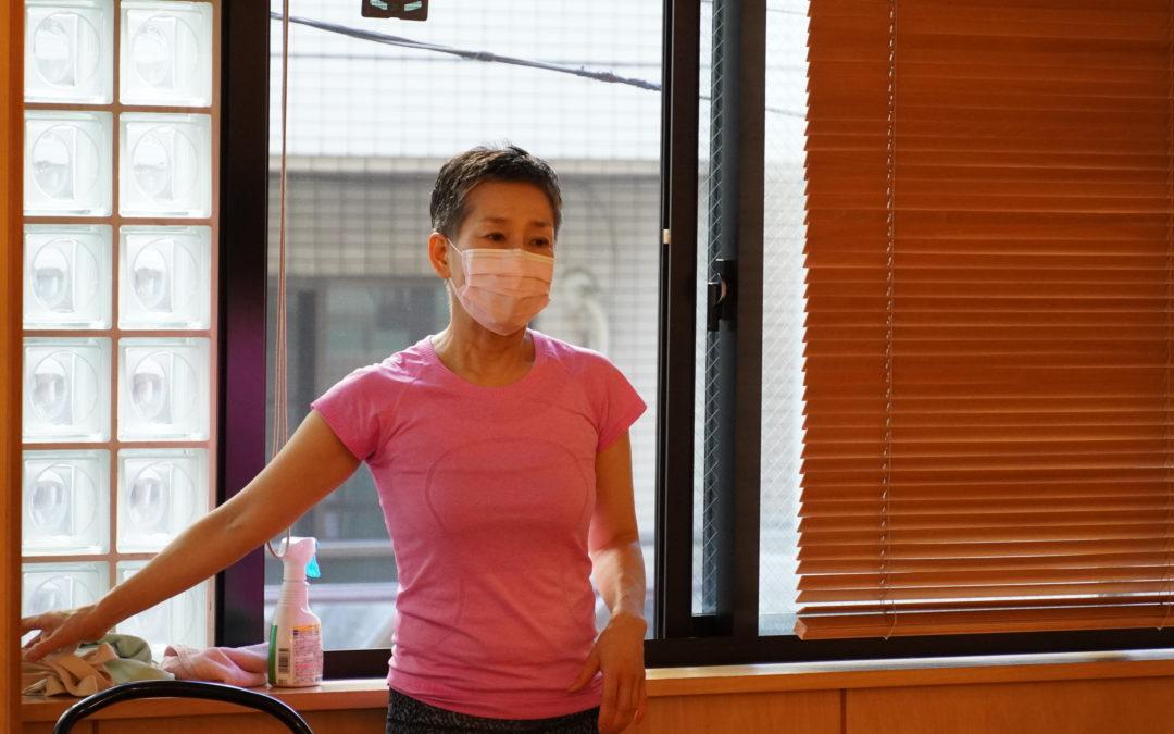 Mutsuko's Yoga Series Classes in October 2021 at @Yoga Studio in Kichijoji.